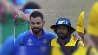 Lasith Malinga Gets Warm Farewell From Virat Kohli, MS Dhoni & Co After India Beat Sri Lanka by Seven Wickets in ICC Cricket World Cup 2019 | WATCH VIDEO