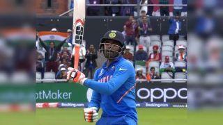 Ravindra Jadeja's Sword Celebration Steals Show During ICC Cricket World Cup 2019 Semi-Final 1 Between India-New Zealand | WATCH VIDEO