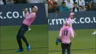 AB de Villiers Pulls Off a Stunning Relay Catch For Middlesex in T20 Blast Opener vs Essex | WATCH VIDEO