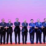 Foreign Ministers of Member Countries of Asean Begin Summit in Thailand