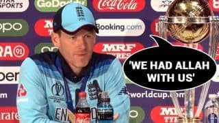 We Had 'Allah' With Us: Eoin Morgan's Response When Asked if Irish Luck Helped England Clinch Maiden World Cup Title | WATCH VIDEO