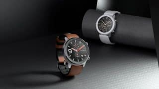 Amazfit GTR Smartwatch with OLED display, and 24-day battery backup launched