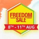 Amazon Freedom Sale to kick off from August 8; deals on Oppo K3, Redmi Y3, Honor 8X, Realme U1 and more
