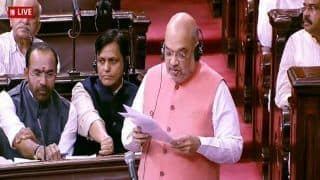 Amit Shah Moves J&K Amendment Bill in Rajya Sabha, Proposes to Extend President's Rule in State by 6 Months