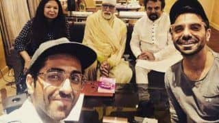 Aparshakti Khurana's Uncontained Happiness as Amitabh Bachchan Poses With His Family is All Fans Ever!