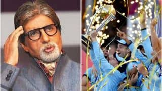 Amitabh Bachchan Mocks ICC's Boundary Countback Rule After England Beat New Zealand to Win ICC Cricket World Cup 2019