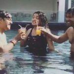 Watch: Bhojpuri Hottie Amrapali Dubey Beats The Heat in Black Swimwear Along With Ravi Dubey And Nirahua
