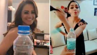Bottle Cap Challenge: Television Hotties Shubhangi Atre Poorey, Anita Hassanandani Take up The Challenge in Their Own Style