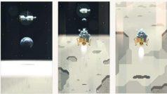 NASA के मिशन अपोलो के 50 साल पूरे होने पर Google का शानदार डूडल