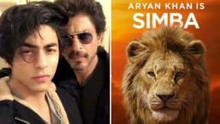 'Mera Simba'! Shah Rukh Khan Shares First Glimpse of Son Aryan Khan's Voice as Simba