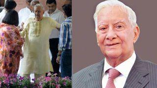 देश के सुप्रसिद्ध उद्योगपति बी.के. बिड़ला का 98 साल की उम्र में निधन