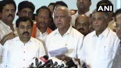 पीएम मोदी और अपने अध्यक्ष अमित शाह से विमर्श के बाद राज्यपाल से मिलूंगा: बीएस येदियुरप्पा