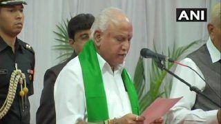 येदियुरप्पा ने ली कर्नाटक के मुख्यमंत्री पद की शपथ, 29 जुलाई को साबित करेंगे बहुमत