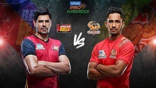 Pro Kabaddi League 2019, MATCH HIGHLIGHTS BLR vs GUJ Match 3: Pawan, Rohit Flop as Gujarat Thrash Defending Champs Bengaluru by 42-24