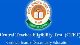 CBSE Releases CTET Notification, Check on ctet.nic.in