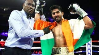 Vijender Singh Remains Unbeaten, Wins 11th Pro Bout