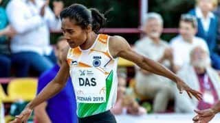 Hima Das Races to Her Third International Gold Medal in Two Weeks