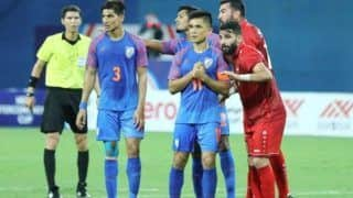 India Play Out 1-1 Draw Against Syria in Inconsequential Match of Intercontinental Cup