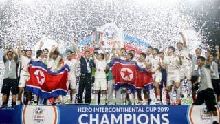 North Korea Defeats Tajikistan to Win Intercontinental Cup 2019
