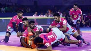 Pro Kabaddi League 2019, U Mumba vs Jaipur Pink Panthers Highlights, MUM vs JAI Match 5: Jaipur Pink Panthers Defeats U Mumba 42-23