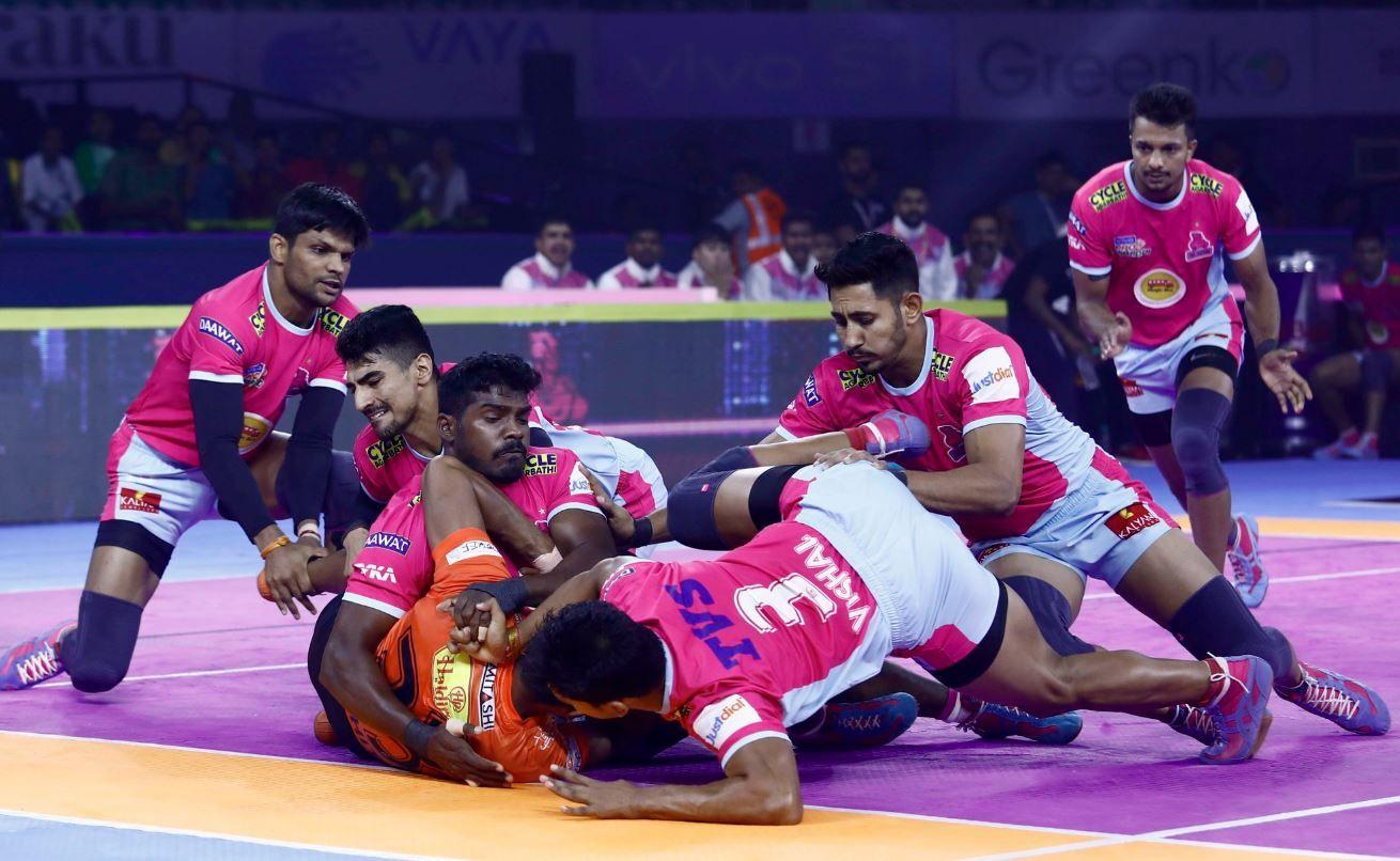 Highlights Pro Kabaddi League 2019 U Mumba Vs Jaipur Pink