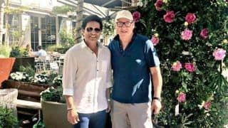 Sachin Tendulkar Posts Pictures With 'The Sultan of Swing' on Twitter