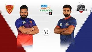 Pro Kabaddi League 2019, Dabang Delhi KC vs Haryana Steelers Highlights, DEL vs HAR Match 14; Naveen Kumar, Chandran Ranjit Star as Delhi Thrashes Haryana 41-21
