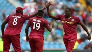 ICC Cricket World Cup 2019 Match 42 Report: Shai Hope, Carlos Brathwaite Shine as West Indies Beat Afghanistan by 23 Runs to End on High