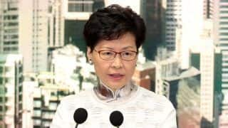 Hong Kong Leader Carrie Lam Says Controversial Extradition Bill is Dead