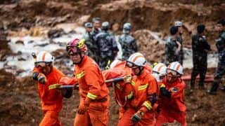 China: At Least 12 People Killed, 34 Missing in Two Landslides