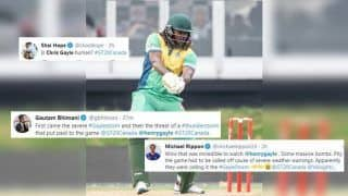 Chris Gayle Sets Twitter on Fire With a Breathtaking 122 Off 54 Balls During GT20 Canada Match Between Montreal Tigers vs Vancouver Knights | SEE POSTS