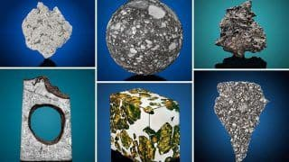 After Art, Christie's Now Opens Online Bidding For Rare Meteorites