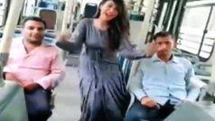 DTC बस में सपना चौधरी के गाने पर ठुमके लगा रही लड़की का VIDEO हुआ वायरल, कर्मचारियों पर गिरी गाज