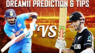 Dream11 Team India vs New Zealand ICC Cricket World Cup 2019 - Cricket Prediction Tips For Today's World Cup 1st Semifinal Match IND vs NZ at Emirates Old Trafford, Manchester