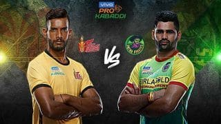 Dream11 Team HYD vs PAT Pro Kabaddi League 2019 - Kabaddi Prediction Tips For Today's PKL Match 11 Telugu Titans vs Patna Pirates at Gachibowli Indoor Stadium, Hyderabad