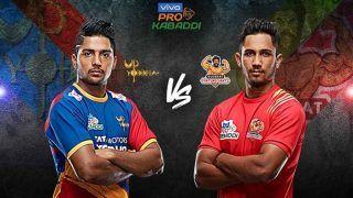 Dream11 Team UP vs GUJ Pro Kabaddi League 2019 - Kabaddi Prediction Tips For Today's PKL Match 10 U.P. Yoddha vs Gujarat Fortunegiants at Gachibowli Indoor Stadium, Hyderabad