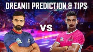 Dream11 Team HAR vs JAI Pro Kabaddi League 2019 - Kabaddi Prediction Tips For Today's PKL Match 18 Haryana Steelers vs Jaipur Pink Panthers at Dome@NSCI SVP Stadium in Mumbai