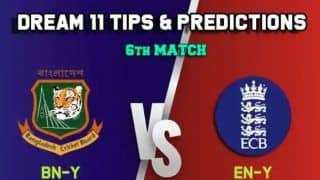 Dream11 Team England U19 vs Bangladesh U19 Tri-Nation ODI Series - Cricket Prediction Tips For Today's Match 6 ENG U-Y vs BAN U-Y at County Ground, Cheltenham