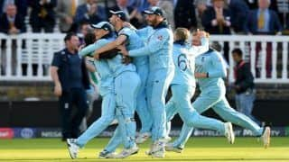 ICC Cricket World Cup 2019 Final HIGHLIGHTS: Super Over Tied, England Beat New Zealand on Boundaries to Clinch Title at Lord's
