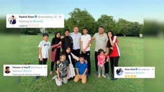 World Cup-Winning English Captain Eoin Morgan Plays Backyard Cricket With Afghan Family, Humble Gesture Impresses Rashid Khan Like Never-Before | SEE POSTS