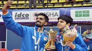 Commonwealth Table Tennis Championships: G. Sathiyan-Archana Kamath Win Mixed Team Gold, Sharath Kamal Loses Men's Singles Quarterfinal