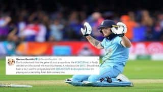 Gambhir Slams ICC After England Beat New Zealand by Virtue of Boundaries to Lift Maiden in Super Over | SEE POST