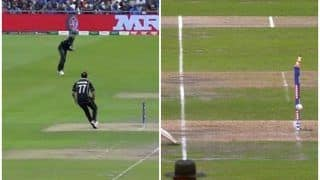 Martin Guptill Direct Hit to Runout MS Dhoni During ICC Cricket World Cup Semi-Final 1 Between India-New Zealand | WATCH VIDEO