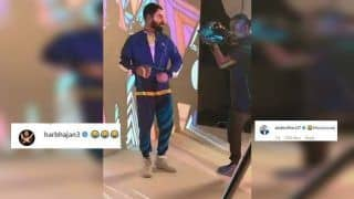 Virat Kohli Shows Off His Dance Move; AB De Villiers, Harbhajan Singh React | SEE POSTS