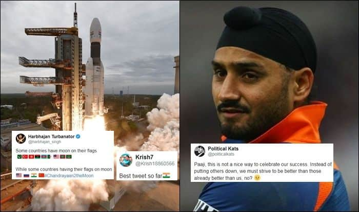 Some Have Moon on Flags, Some Flag on Moon': Harbhajan Singh