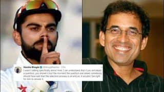 Harsha Bhogle Slams Virat Kohli For Backing Ravi Shastri as Head Coach While Selection Process Still on