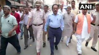 Hauz Qazi Clashes: 3 Arrested in Delhi, Harsh Vardhan Takes Stock of Situation; Security Beefed up