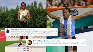Hima Das: Twitter Bows to Golden Girl For Bagging Five Medals in a Month | SEE POSTS