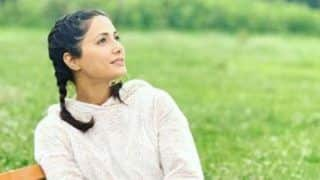 Hina Khan Enjoys Srinagar's Scenic Beauty by Sitting in Garden With a Cup of Coffee And Her Contagious Smile Will Brighten up Your Friday