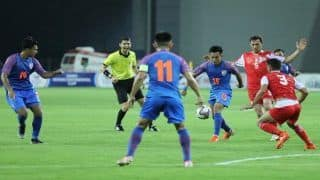 Hero Intercontinental Cup 2019: Out of Reckoning From Final, India Face Syria in Last League Encounter
